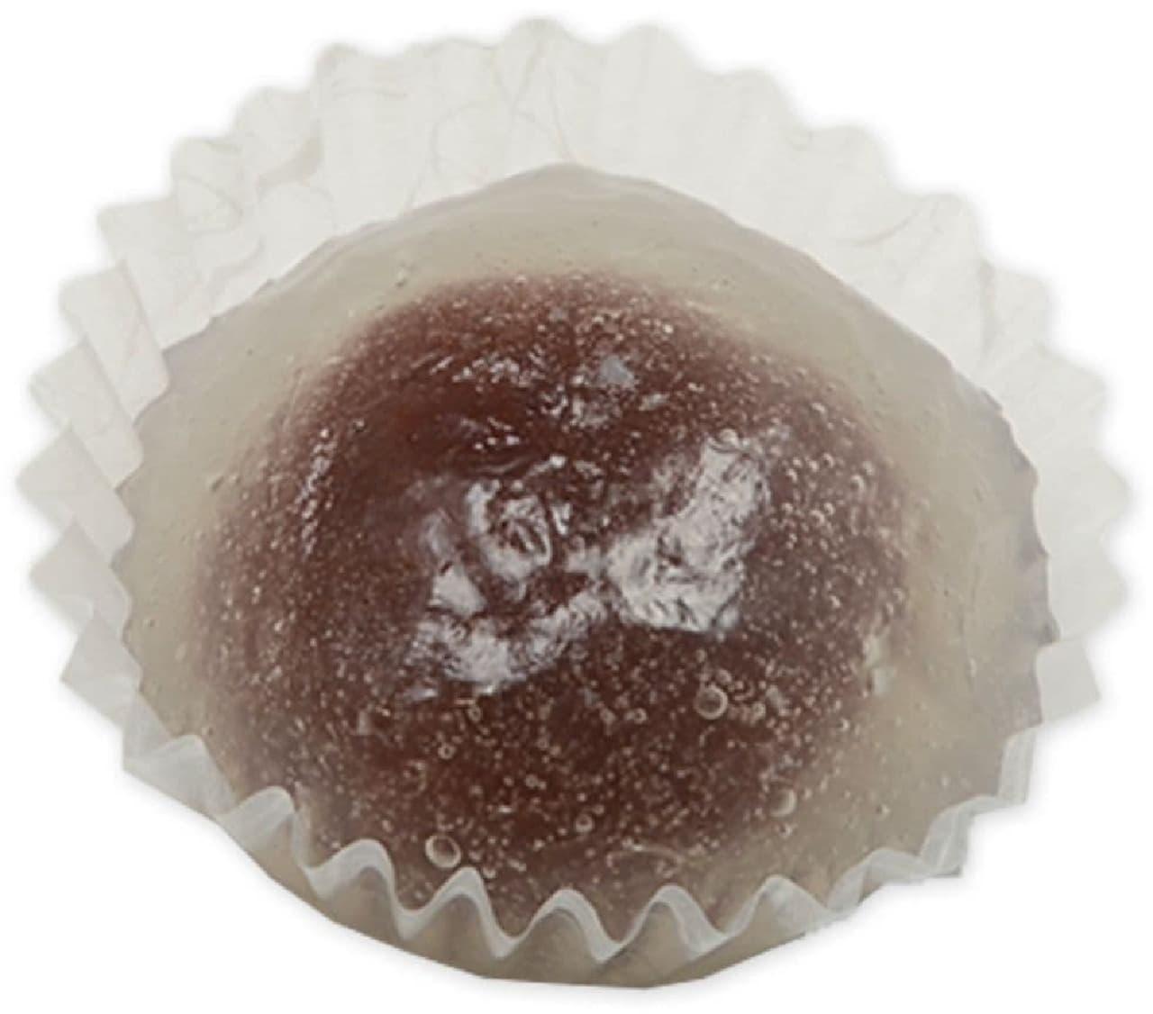 セブン-イレブン「北海道十勝産小豆使用 冷やし葛まんじゅう」