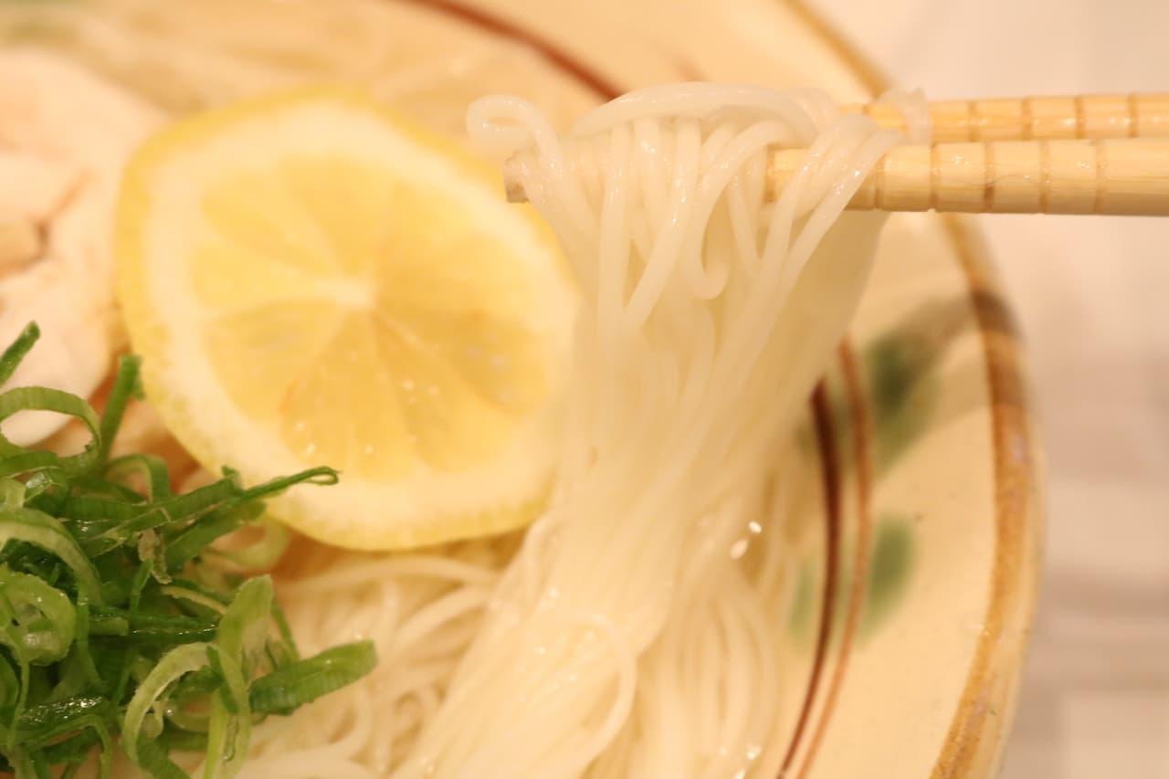 レシピ「ベトナム風そうめん」