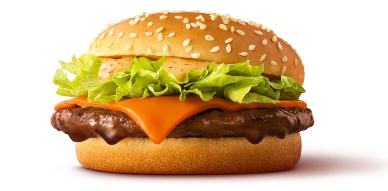 マクドナルド「赤辛てりやき」