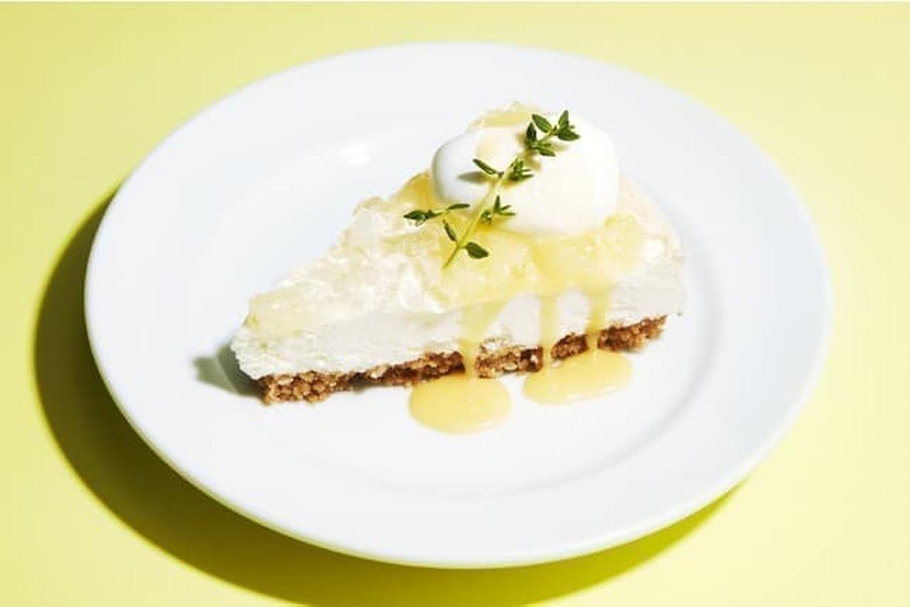 J.S パンケーキカフェ「レモンレアチーズケーキ」