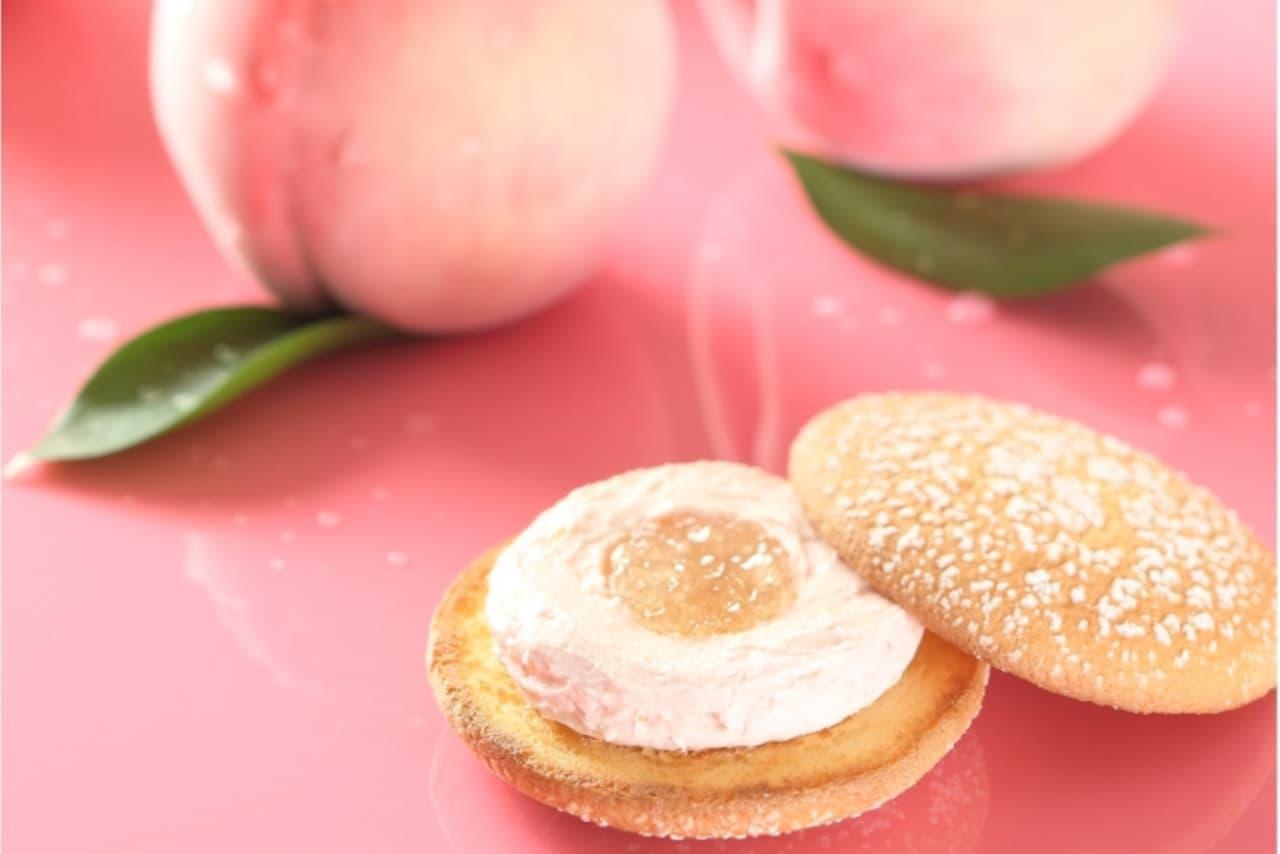 季節限定ナボナ「贅沢白桃」