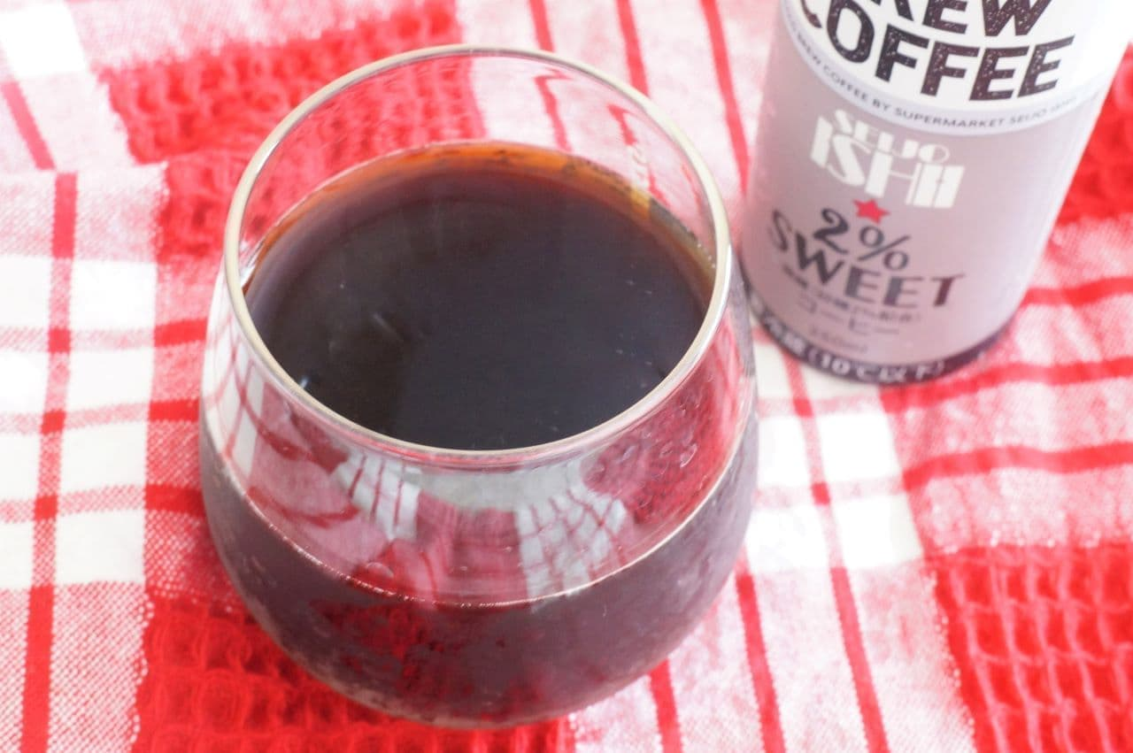 成城石井「コールドブリューコーヒー微糖」