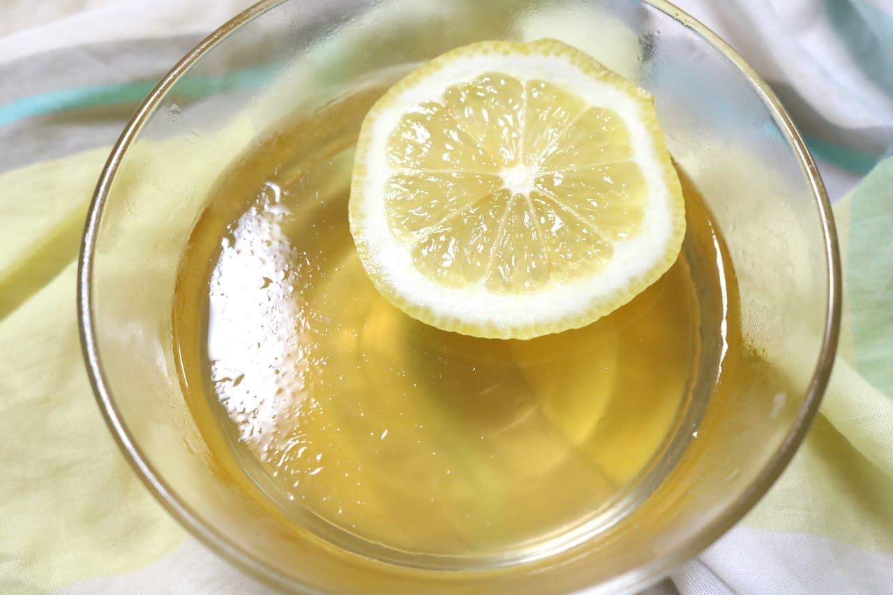 実食「FUNN オーギョーチゼリーの素(檸檬愛玉凍粉)」