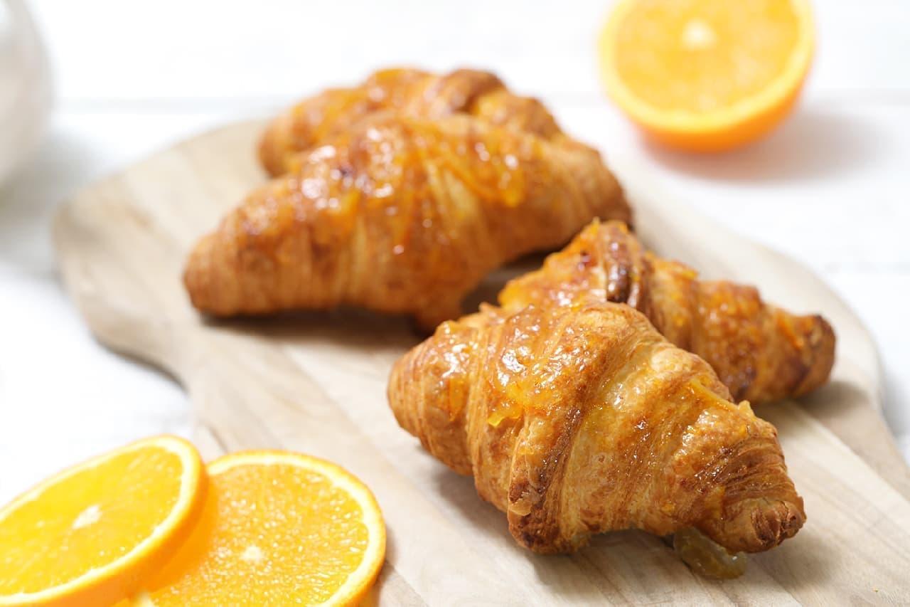 ハートブレッドアンティーク「ぜっぴん!! クロワッサン~オレンジ~」