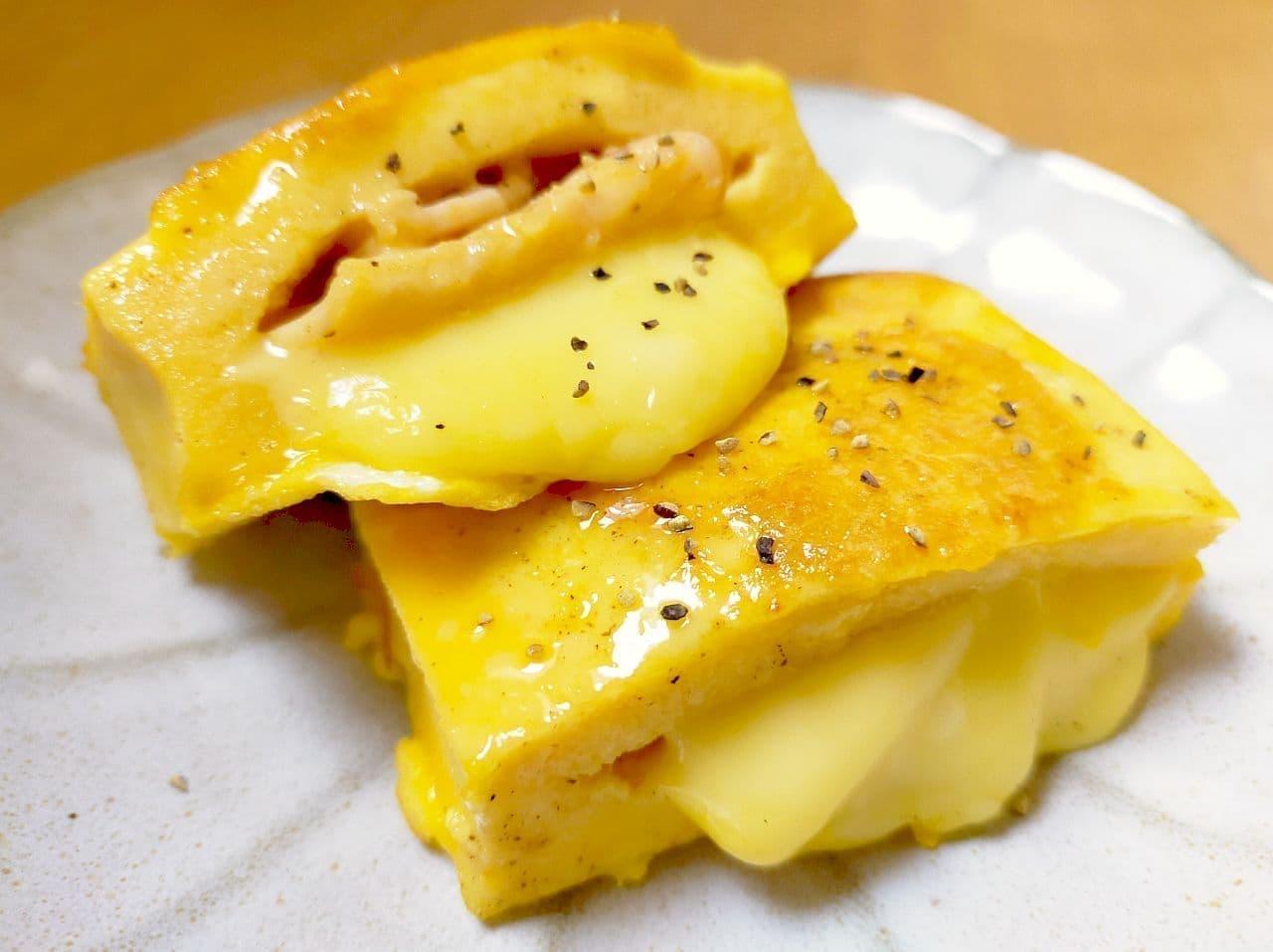 「ふわふわ高野豆腐ピカタ」のレシピ