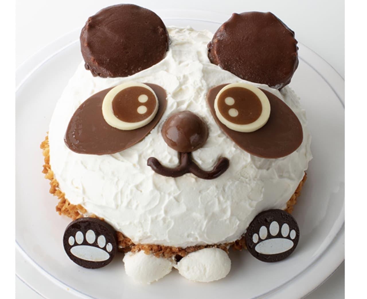 シャトレーゼ「かわいいパンダちゃんデコレーション」