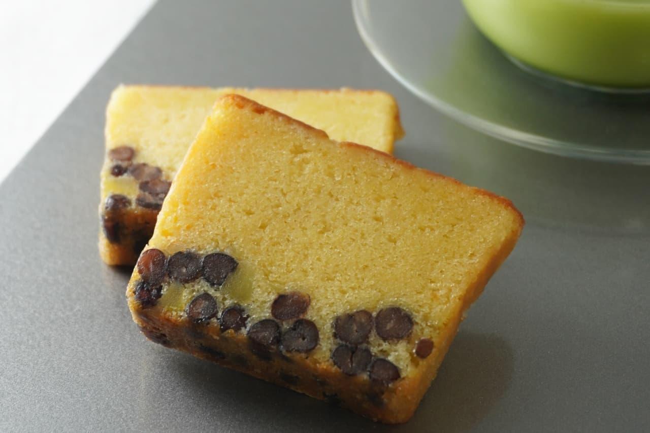 座千疋屋「ぬれ甘なつと×栗のパウンドケーキ」