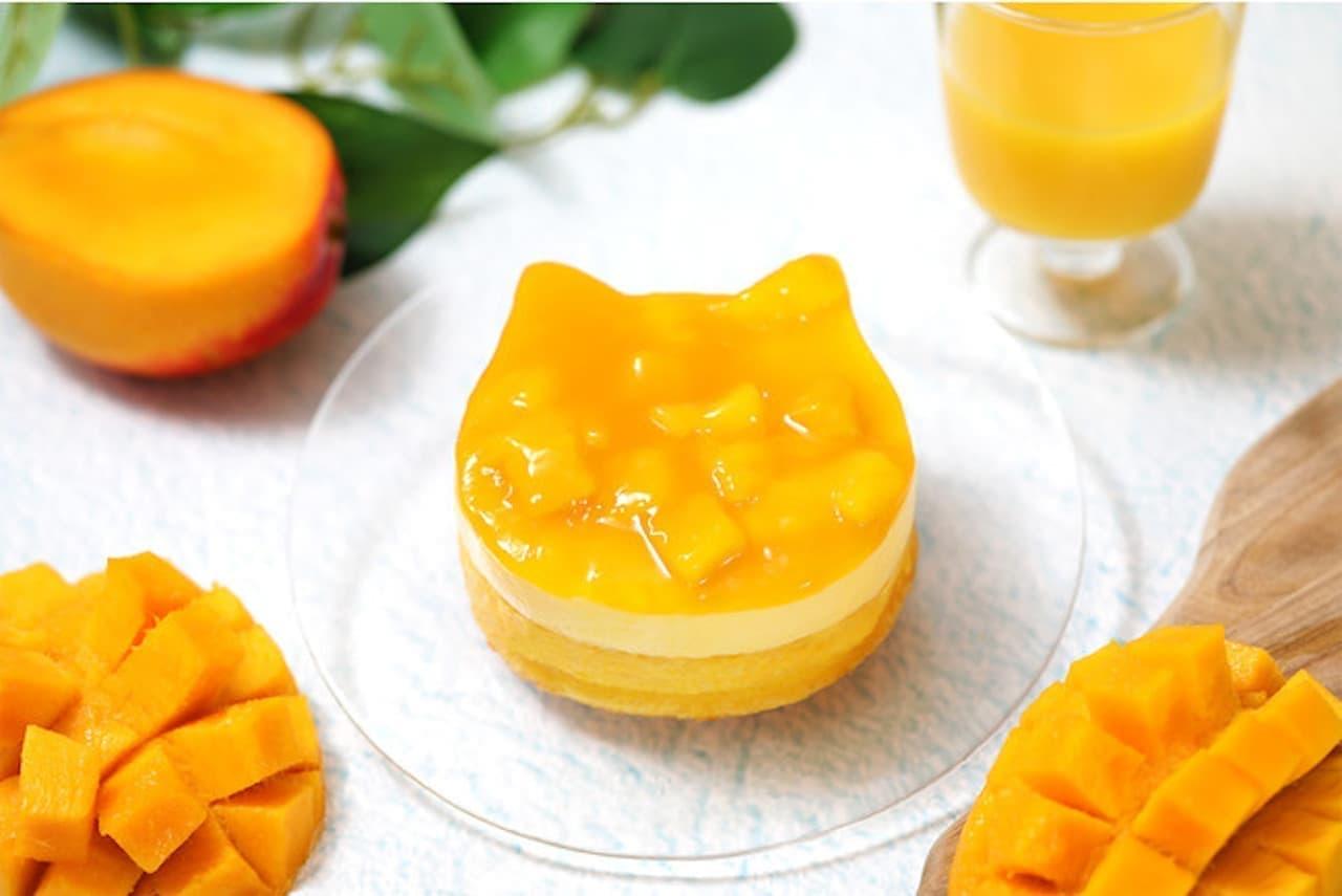 ねこねこチーズケーキ「ねこねこWチーズケーキ マンゴー」季節限定で