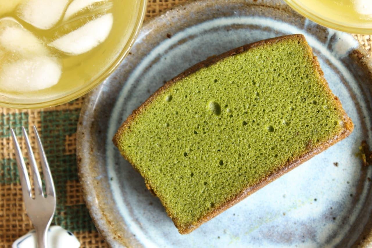 ファミマ「抹茶のパウンドケーキ」