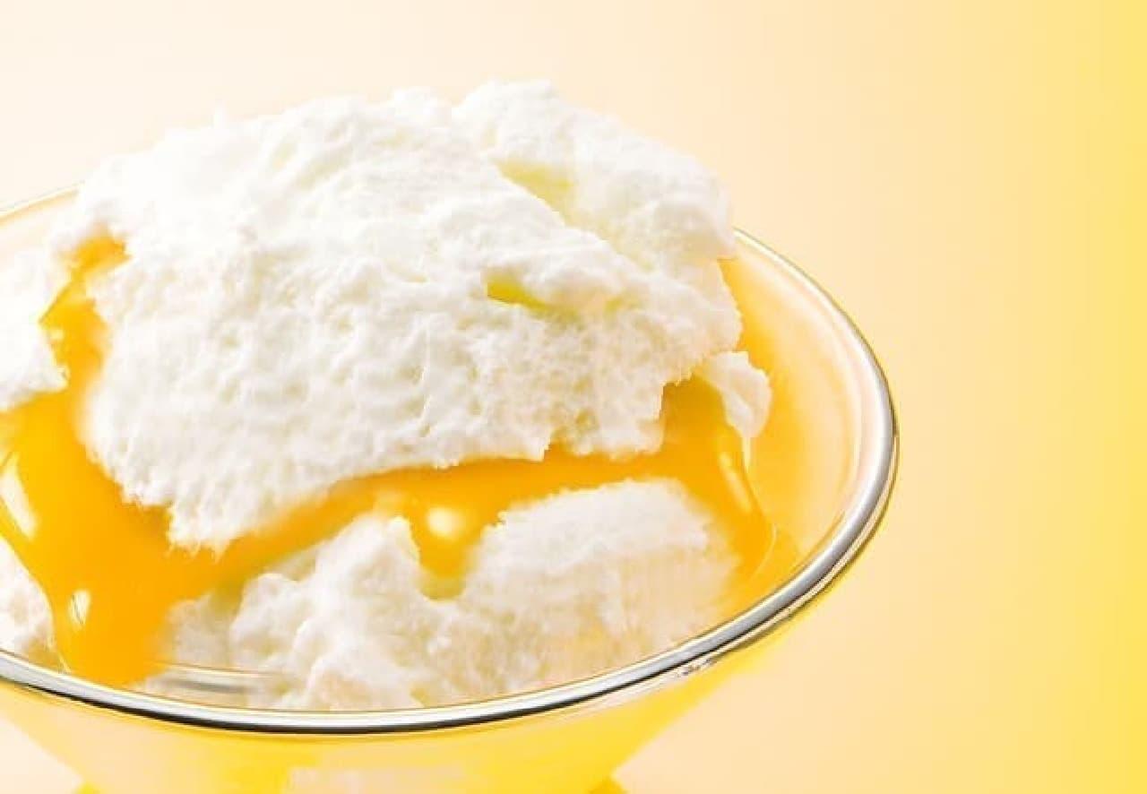 銀のぶどう「チーズケーキ かご盛り 白らら<パッションマンゴー>」