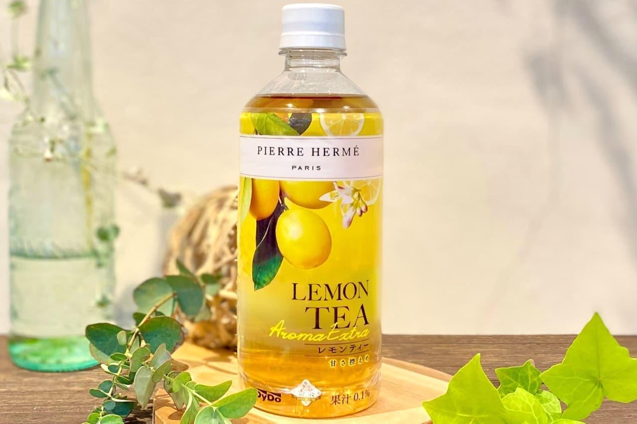 ダイドー「ピエール・エルメ × 贅沢香茶 レモンティー」