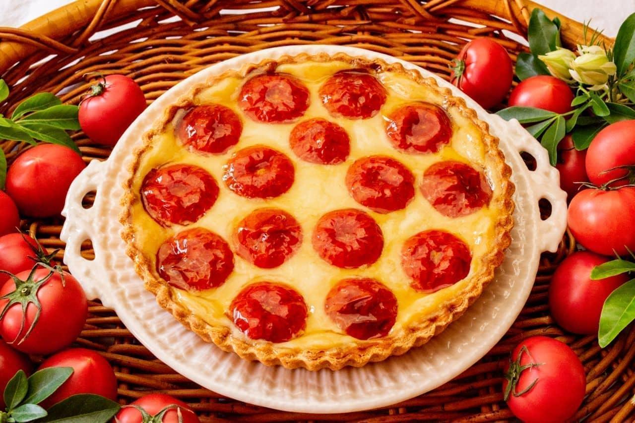 キル フェ ボン「トマトのタルト」