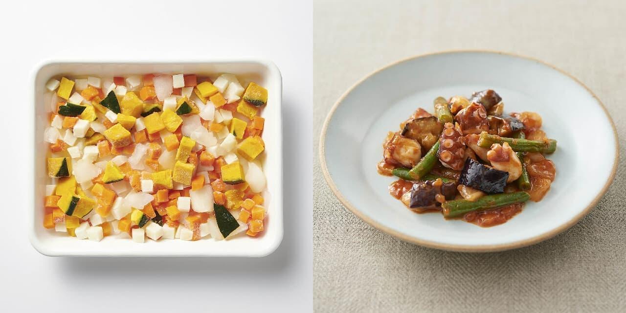 無印良品の冷凍食品『すぐ使える』シリーズと『フライパンでつくるミールキット』シリーズ