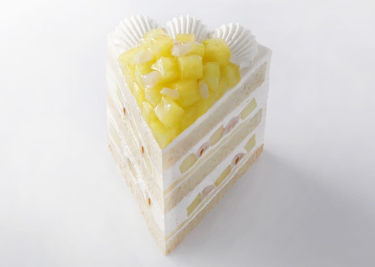 ホテルニューオータニ「新エクストラスーパーメロンショートケーキ」