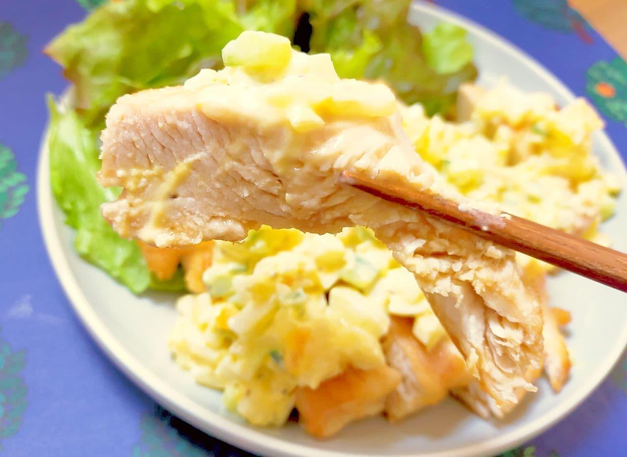 「揚げないチキン南蛮」のレシピ