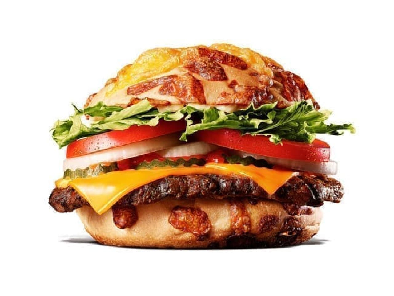 バーガーキング「チーズアグリービーフバーガー」