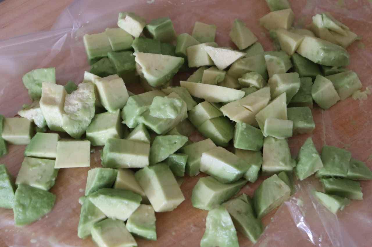 アボカド大根サラダ