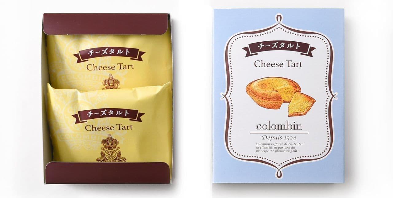 コロンバン「チーズタルト」