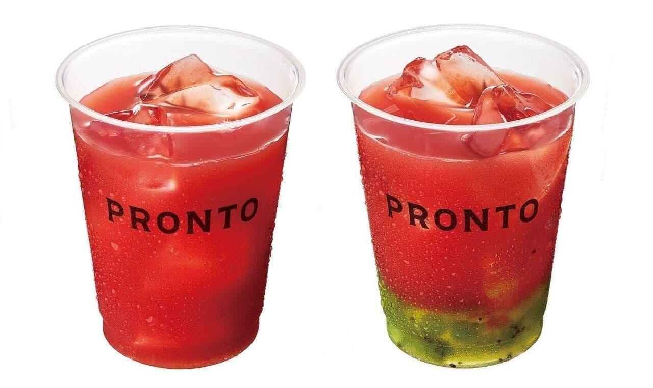 PRONTO夏の定番商品「すいかジュース