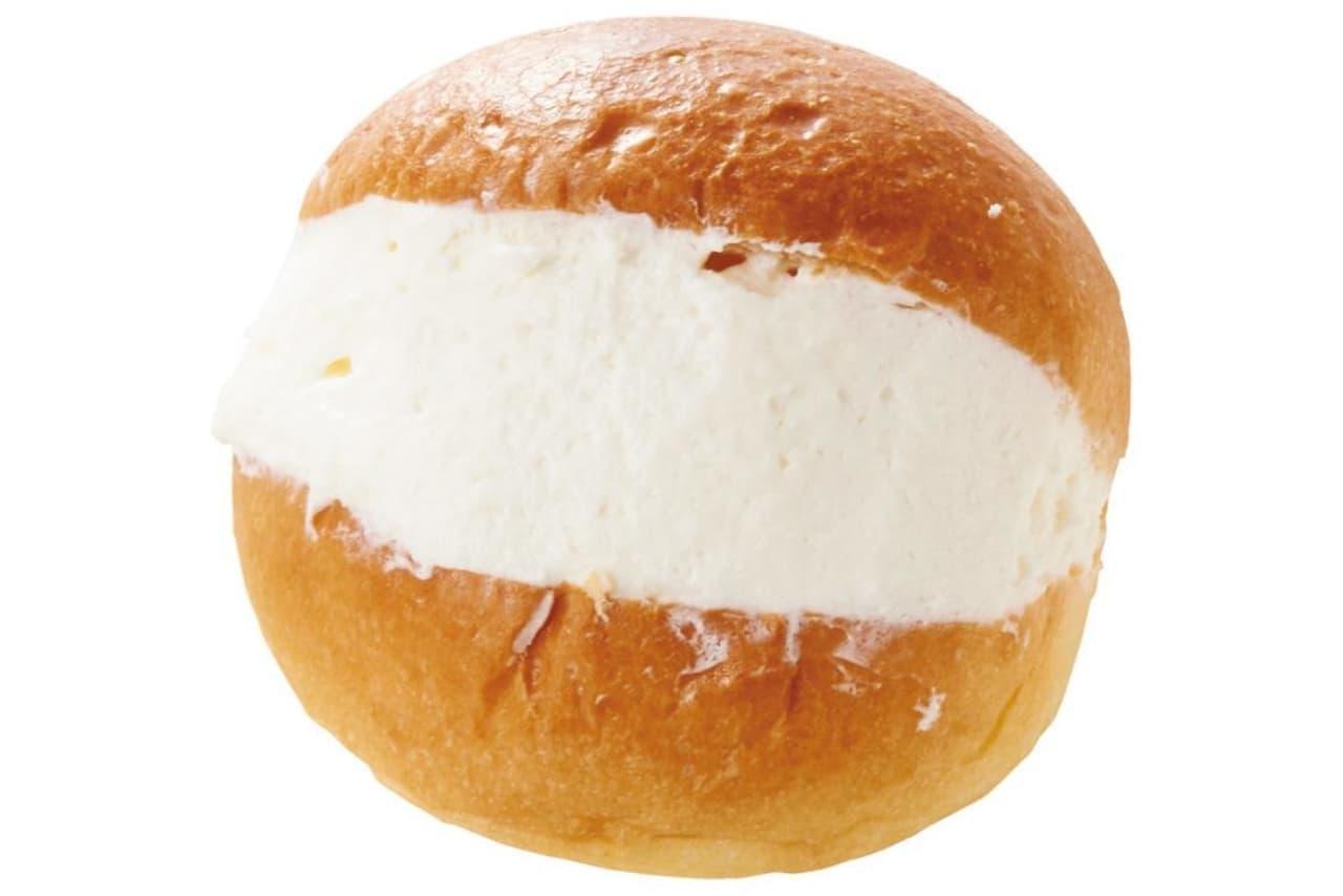 「甘酸っぱいレモンクリームが入ったマリトッツォ」サミットストア インストアベーカリー