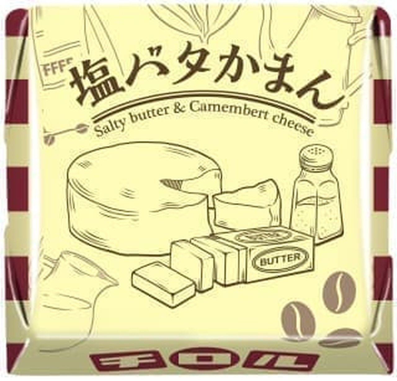 チロルチョコ「塩バタかまん〈袋〉」