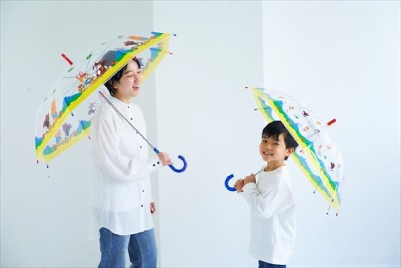 「クッピーラムネ柄の傘」がヴィレァンオンラインに新登場