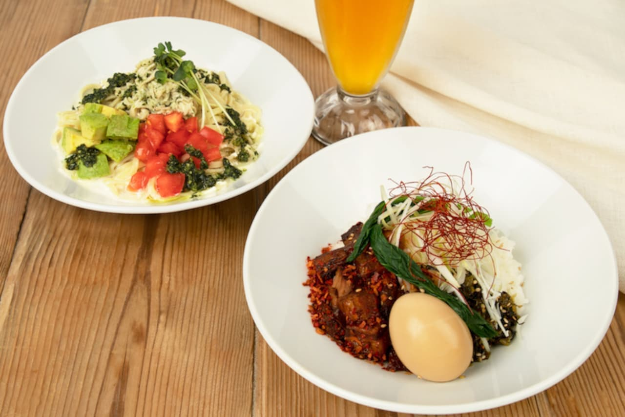 """Spicy """"Mala meat rice"""" and """"Tomato and avocado cream basil cold noodles"""" are now available at Chun Shui Tang"""