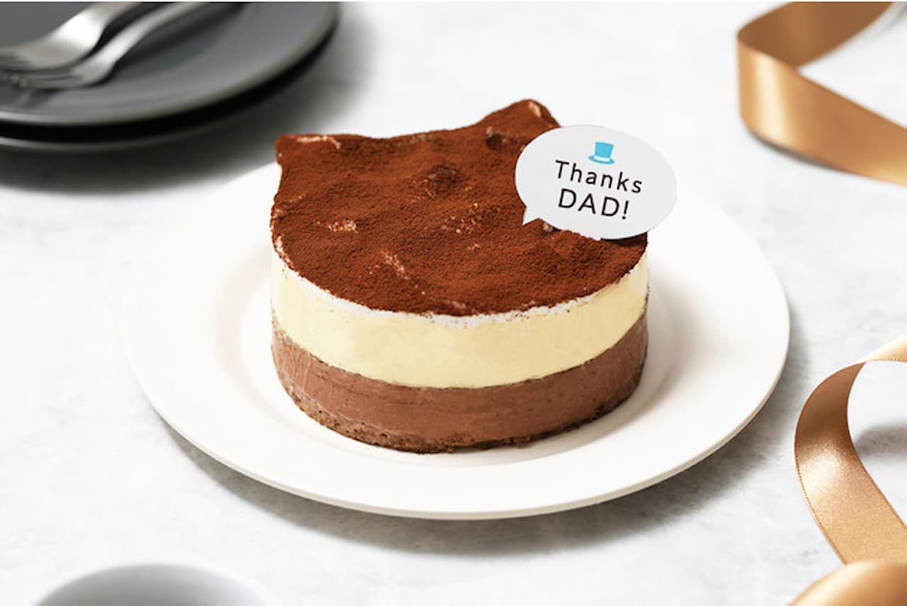 父の日「ねこねこティラミス」ねこねこチーズケーキから