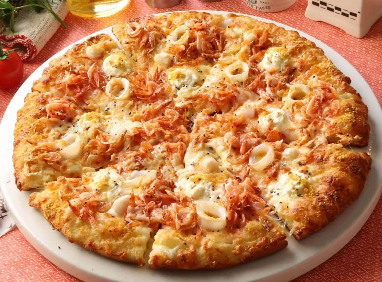 ピザーラ「桜海老のシーフードピザ」
