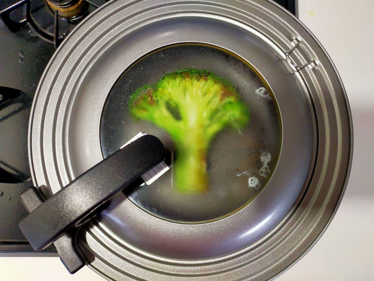 「ブロッコリーステーキ」のレシピ