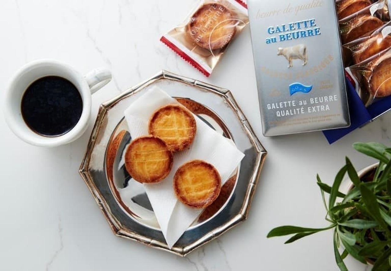 バターを楽しむ焼き菓子ブランド「ガレット オ ブール」