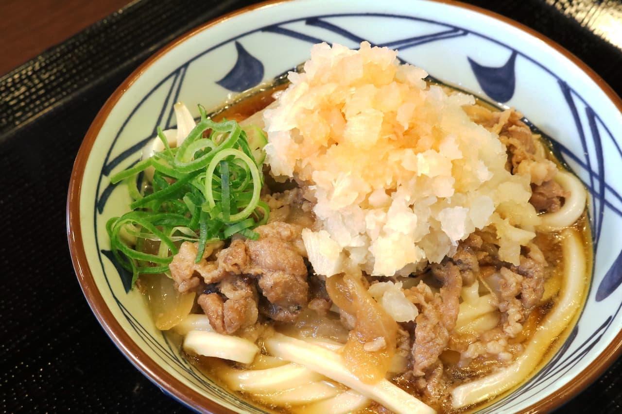 丸亀製麺『鬼おろし肉ぶっかけうどん』