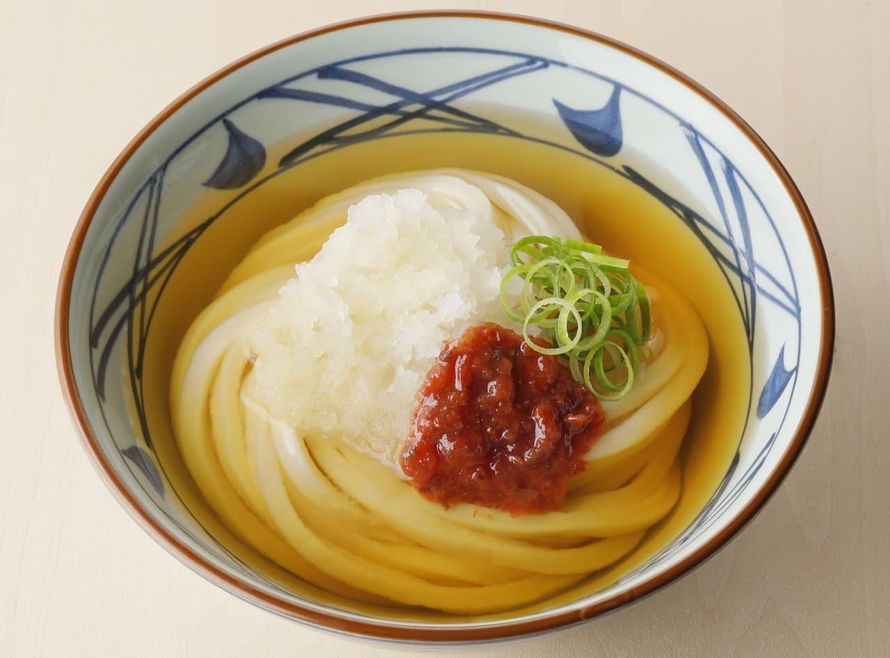 丸亀製麺『梅おろし冷かけうどん』
