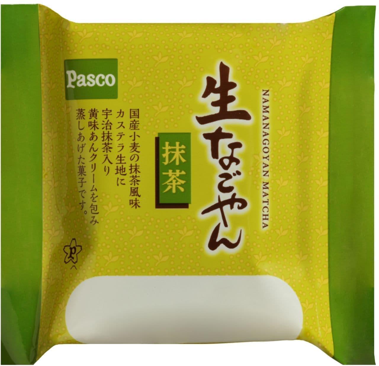 パスコ「生なごやん 抹茶」