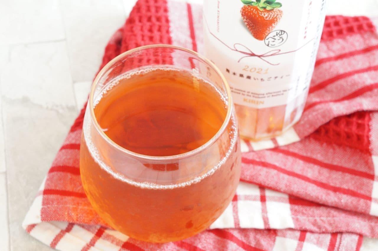 キリン 午後の紅茶 for HAPPINESS 熊本県産いちごティー