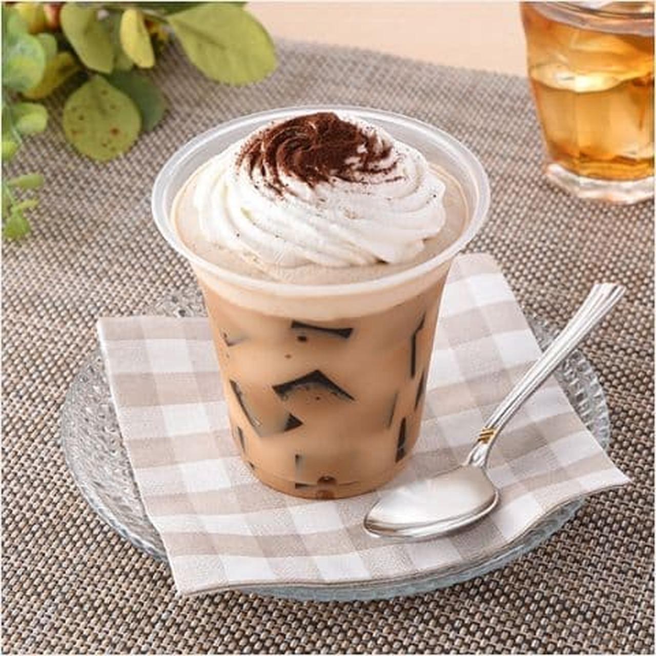 "FamilyMart ""Coffee Jelly with plenty of cream"""