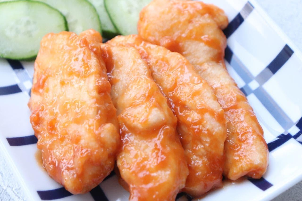 簡単レシピ「鶏むね肉の味噌マヨ焼き」