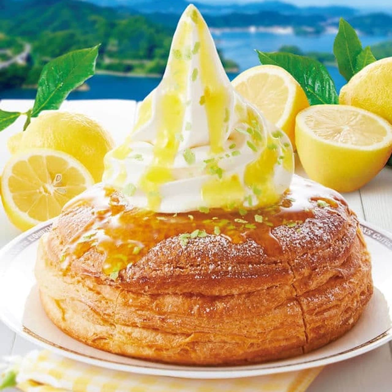 季節のシロノワール「シロノワール 瀬戸内レモン」