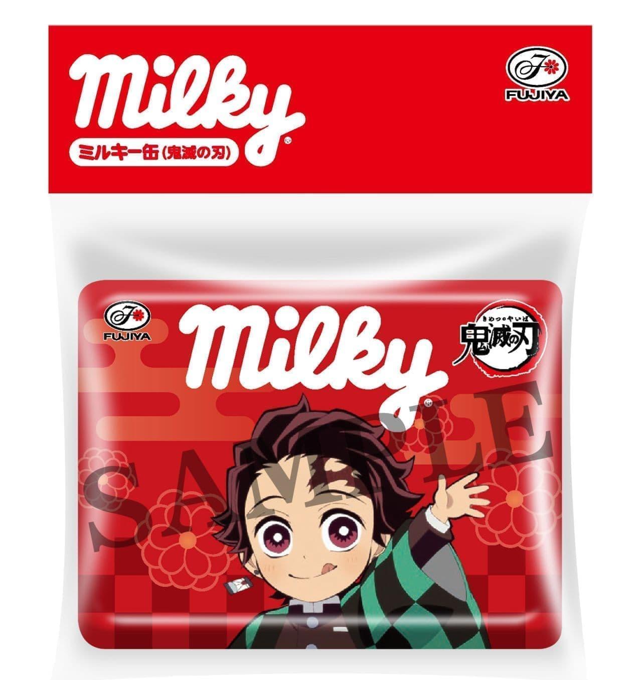 ミルキー缶(鬼滅の刃)