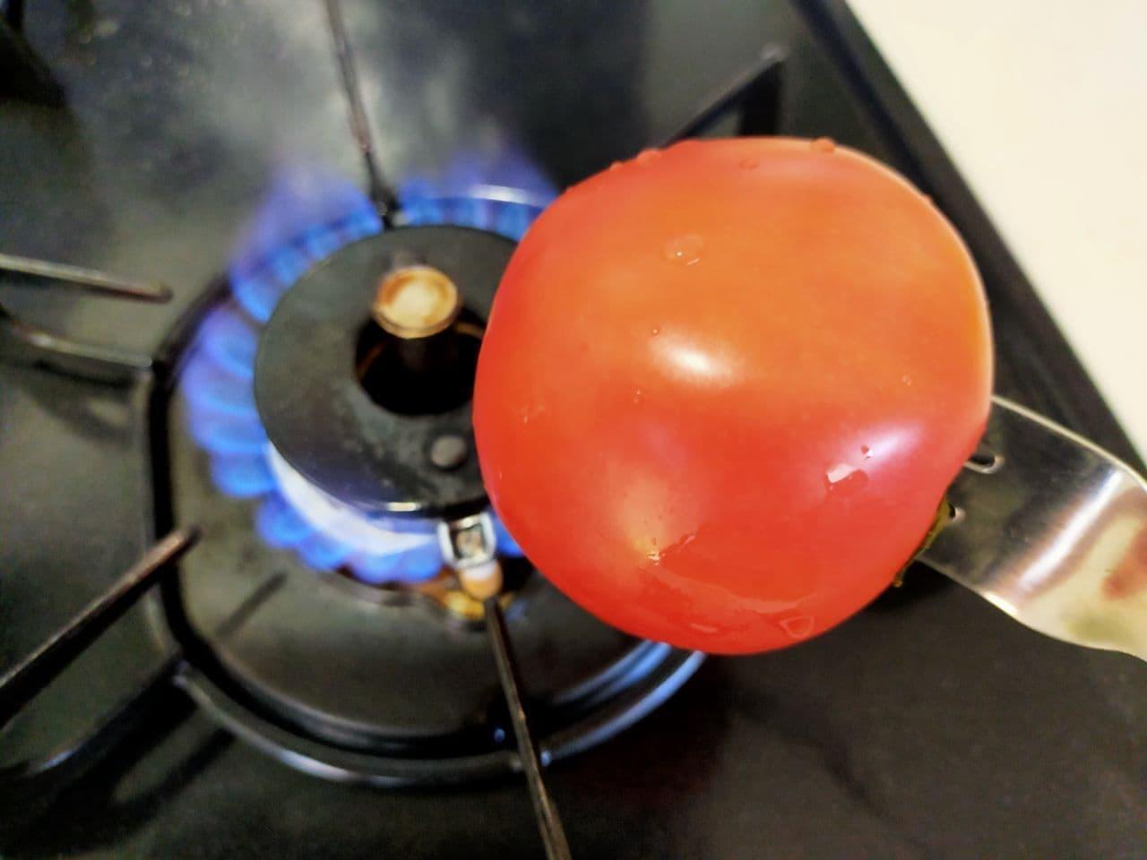 トマトの皮むき方法
