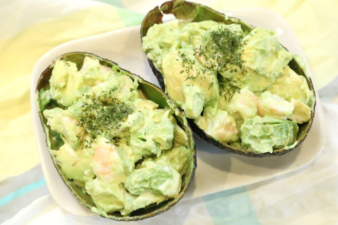 「アボカドとえびのマヨサラダ」の簡単レシピ