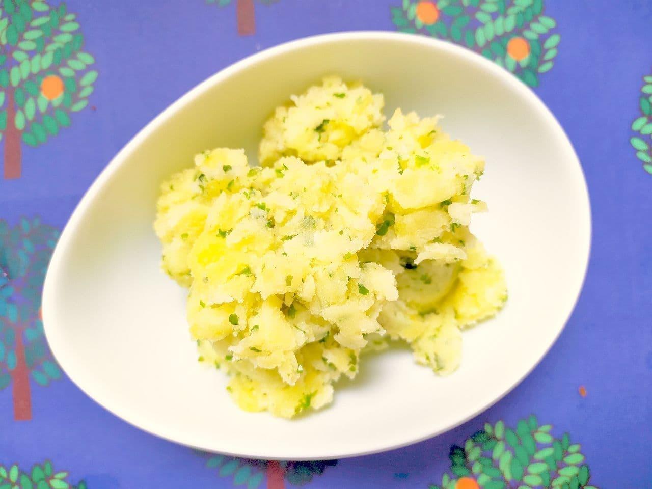 「のり塩ポテトサラダ」レシピ