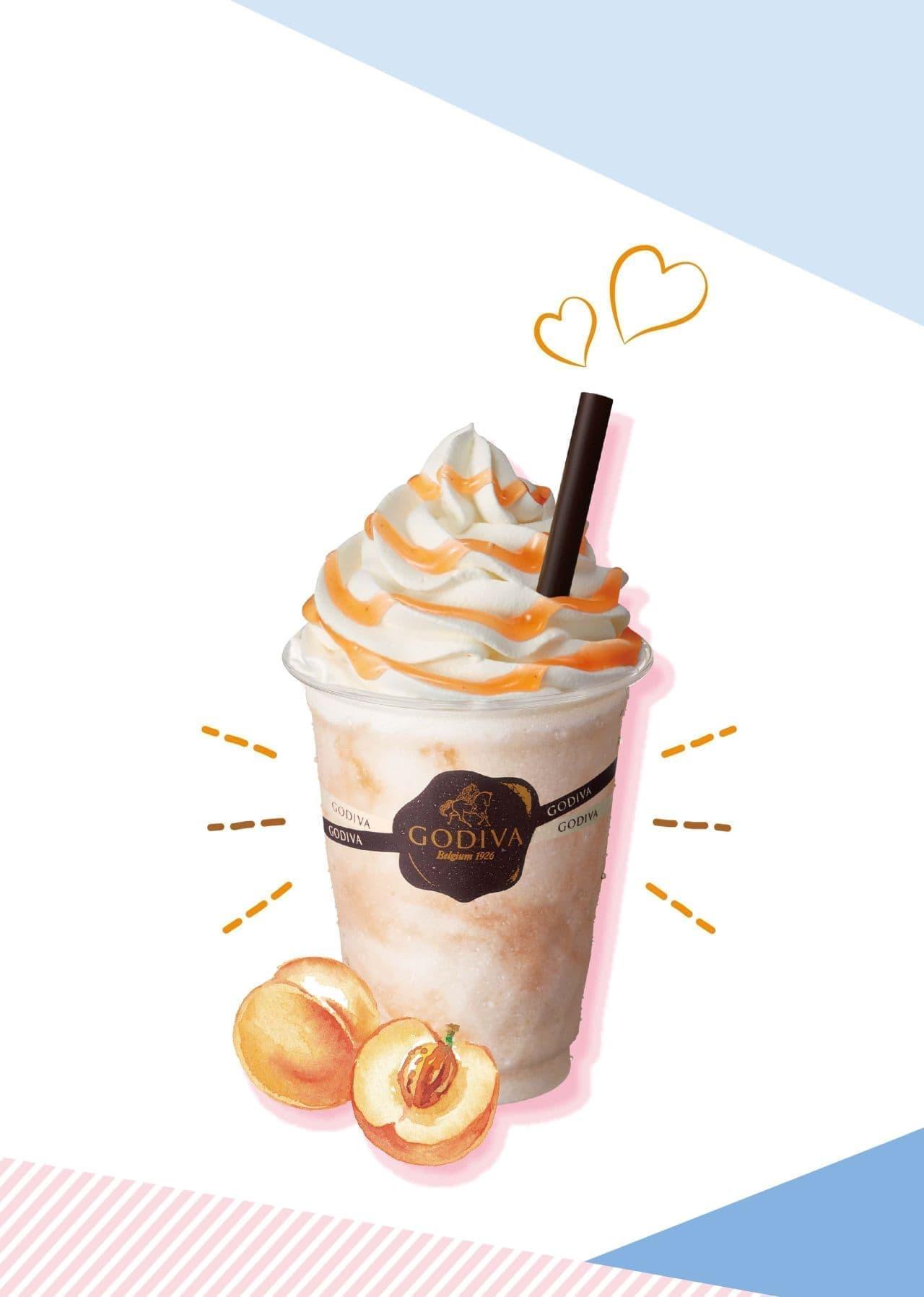 ゴディバ「ショコリキサー ホワイトチョコレート ピーチ」