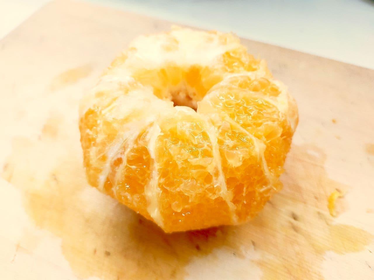 オレンジの皮のむき方