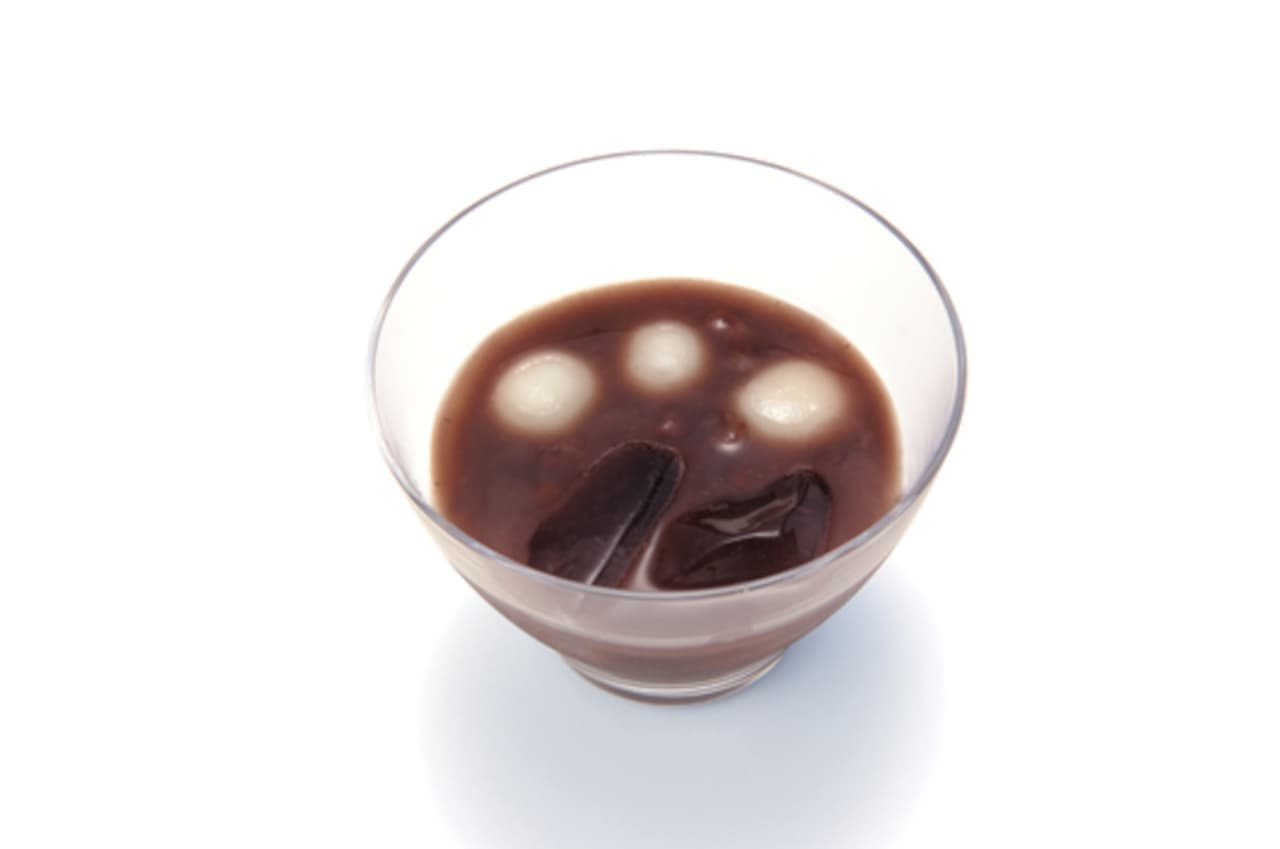虎屋菓寮「冷し汁粉」