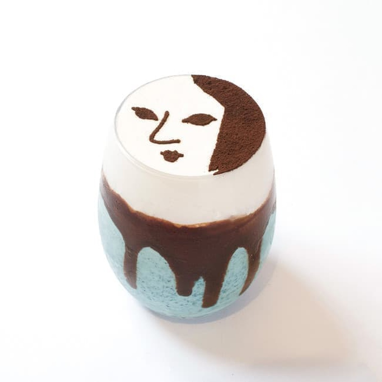 よーじやカフェ「チョコミントパフェ」「チョコミントスムージー」