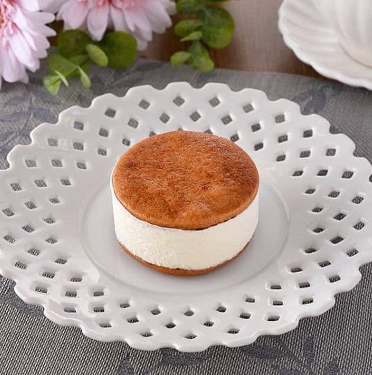 ファミリーマート「バタービスケットサンド チーズ」