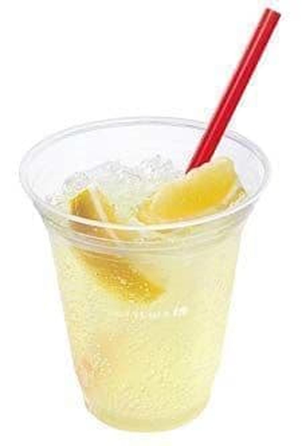 ロッテリア「生しぼりレモンのC.C.レモン」