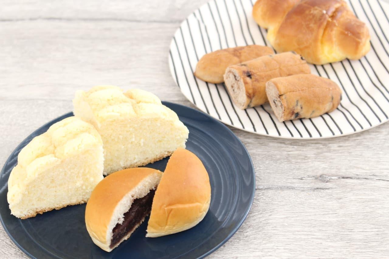 「クーリッシュ バニラ」のアレンジスイーツで使う菓子パン