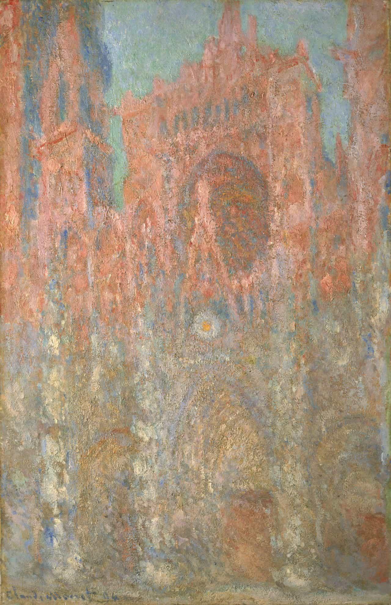 クロード・モネ《ルーアン大聖堂》